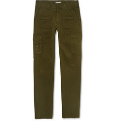 Michael Bastian Slim-Fit Cotton-Twill Cargo Trousers