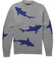 Christopher Raeburn - Shark-Intarsia Wool Sweater
