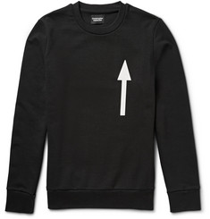 Christopher Raeburn Arrow-Print Cotton-Jersey Sweatshirt