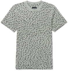 Christopher Raeburn Slim-Fit Shark-Print Cotton-Jersey T-Shirt