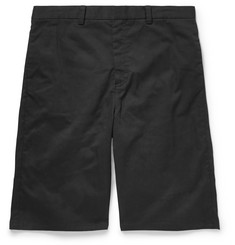 Alexander Wang Stretch Cotton-Twill Shorts