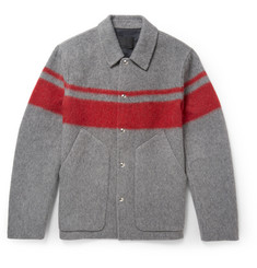 Alexander Wang Striped Wool-Blend Jacket