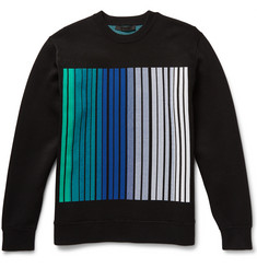 Alexander Wang Barcode Dégradé Stretch-Knit Sweater