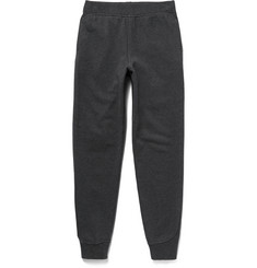 Alexander Wang T by Alexander Wang Fleece-Back Cotton-Blend Jersey Sweatpants