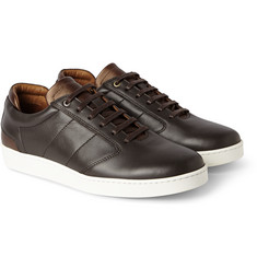 WANT Les Essentiels de la Vie Lennon Two-Tone Leather Sneakers