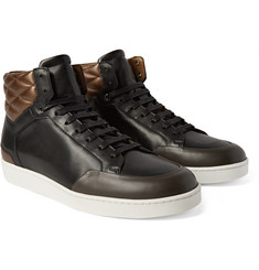 WANT Les Essentiels de la Vie - Lloyd Colour-Block Quilted Leather Sneakers
