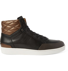 WANT Les Essentiels de la Vie Lloyd Colour-Block Quilted Leather Sneakers