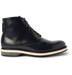 WANT LES ESSENTIELS Montoro High Matte-Leather Derby Boots