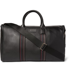Paul Smith Shoes & Accessories - City Webbing Textured-Leather Holdall
