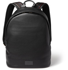 Paul Smith Shoes & Accessories City Webbing Textured-Leather Backpack