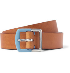 Paul Smith Shoes & Accessories 2.5cm Tan Leather Belt