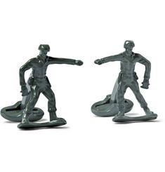 Paul Smith Shoes & Accessories Enamelled Toy Soldier Cufflinks