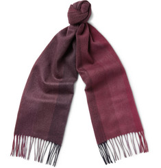 Paul Smith Shoes & Accessories Dégradé Cashmere Scarf