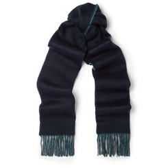Paul Smith Shoes & Accessories Double-Sided Lambswool and Cashmere-Blend Scarf