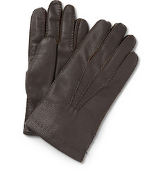Paul Smith Shoes & Accessories Cashmere-Lined Leather Gloves