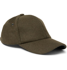 Paul Smith Shoes & Accessories - Melton-Wool Baseball Cap