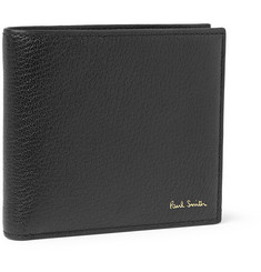Paul Smith Shoes & Accessories Grained-Leather Billfold Wallet