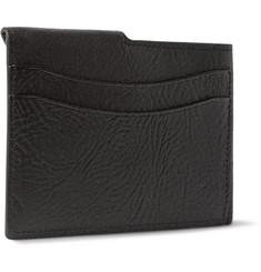 Maison Margiela Textured-Leather Cardholder