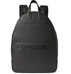 Maison Margiela Grained-Leather Backpack