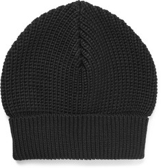 Maison Margiela Ribbed Wool Beanie