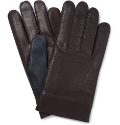 Maison Margiela Two-Tone Leather Gloves
