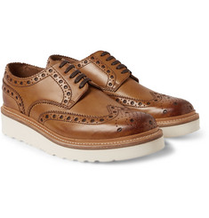 Grenson Archie Leather Wingtip Brogues