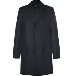 A.P.C. Double-Faced Wool-Blend Overcoat