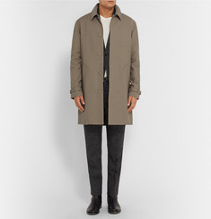 A.P.C. Cotton and Wool-Blend Gabardine Raincoat