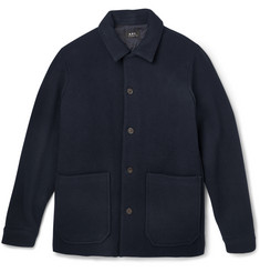A.P.C. Padded Wool-Blend Coat