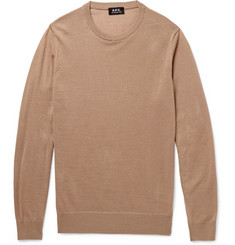 A.P.C. Wool, Silk and Alpaca-Blend Sweater
