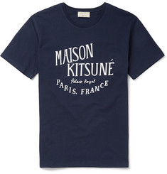 Maison Kitsuné - Printed Cotton T-Shirt