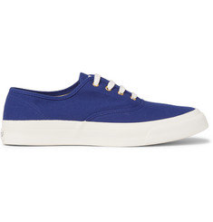 Maison Kitsuné Canvas Sneakers
