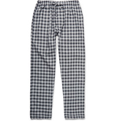 Zimmerli Checked Woven-Cotton Pyjama Trousers
