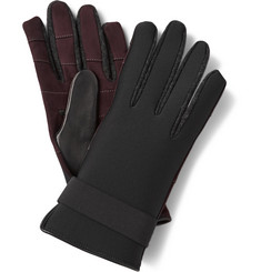 Lanvin Panelled Gloves