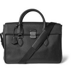 Berluti E'Mio Pebble-Grain Leather Briefcase