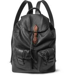 Berluti Horizon Panelled Leather Backpack