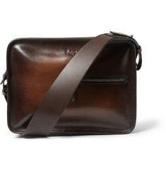 Berluti Un Jour Venezia Leather Messenger