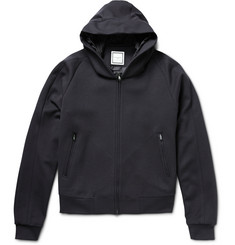 Wooyoungmi Zip-Up Wool-Blend Jersey Hoodie