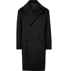 Wooyoungmi Double-Breasted Wool-Blend Overcoat