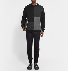 Wooyoungmi Panelled Wool-Blend Sweater