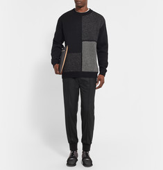 Wooyoungmi Tapered Wool-Blend Twill Trousers