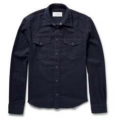 Maison Margiela Western Slim-Fit Stretch-Denim Shirt
