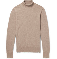 Maison Margiela Elbow Patch Wool Rollneck Sweater