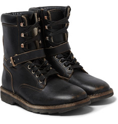 Maison Margiela - Leather Combat Boots