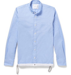 Sacai Drawstring Cotton Shirt