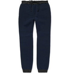 Sacai Cotton-Blend Cuffed Sweatpants