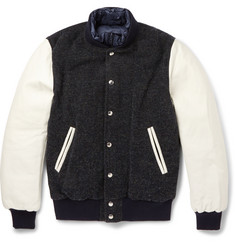 Sacai Reversible Padded Bomber Jacket