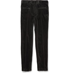 Haider Ackermann Slim-Fit Stretch-Cotton Corduroy Trousers