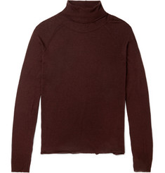 Haider Ackermann Fine-Knit Rollneck Sweater