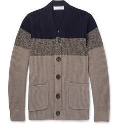 Brunello Cucinelli Colour-Block Cashmere Cardigan